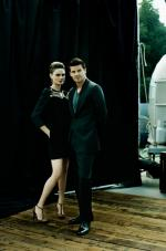Emily Deschanel & David Boreanaz by Jim Wright, 2007