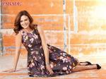 Emily Deschanel's Got Flower Power in Parade Magazine