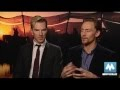 Benedict Cumberbatch & Tom Hiddleston - Stars of War Horse, Sherlock, Star Trek & Thor