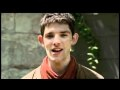 Colin Morgan - invites French Fans to convention ('speaking' French)