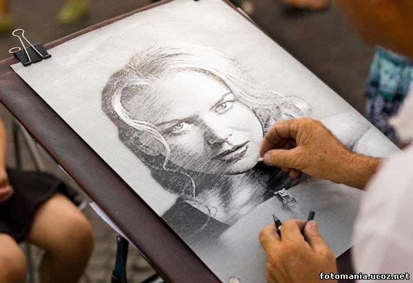 Бесплатно онлайн сделать фото карандашным рисунком